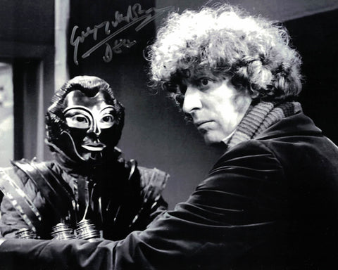 GREGORY DE POLNAY - D84 Robots of Death in Doctor Who hand signed 10 x 8 photo