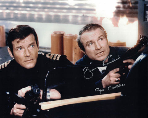 SHANE RIMMER - Cmdr Carter - The Spy Who Loved Me hand signed 10 x 8 photo