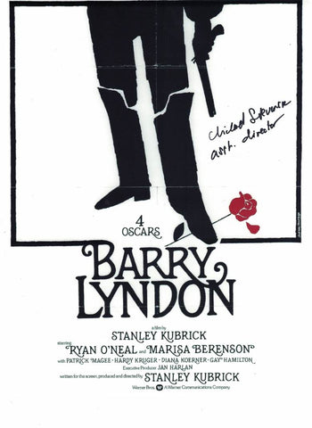 MICHAEL STEVENSON  - assistant Director Barry Lyndon