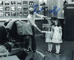 LISA & LOUISE BURNS - The Grady Twins from The Shining