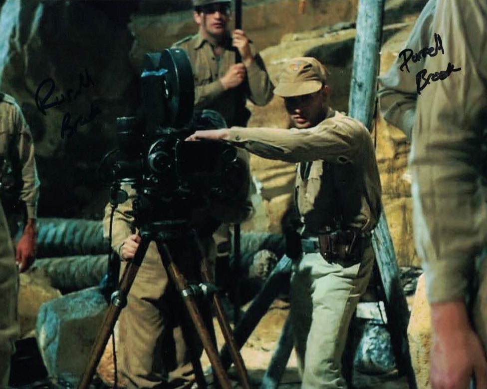 RUSSELL & DARRELL BROOK - German soldiers with the Ark in Raiders of the Lost Ark