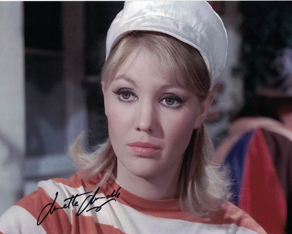 ANNETTE ANDRE - Watchmakers daughter in The Prisoner