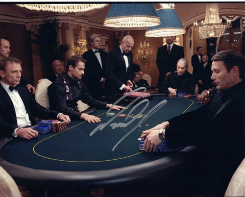 ANDREAS DANIEL - Dealer at Casino Royale (2006) James Bond