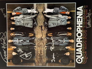 QUADROPHENIA 16 x 12 signed x 7 of the cast