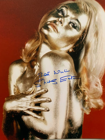 SHIRLEY EATON - Jill Masterson in Goldfinger - 11 x 14