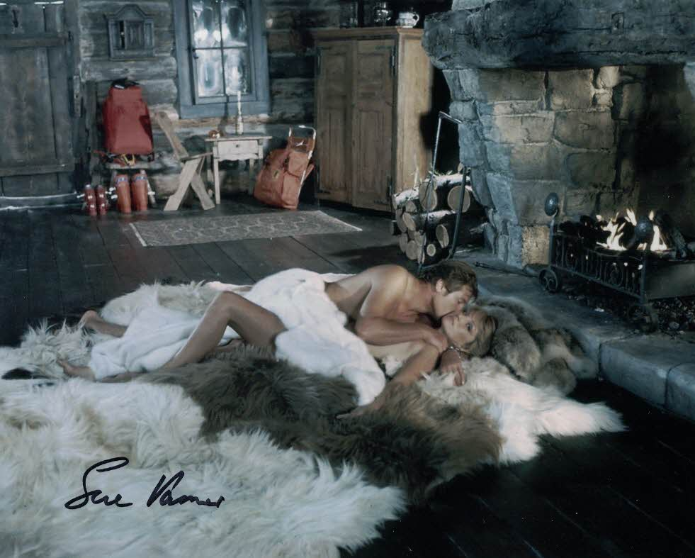 SUE VANNER - Log Cabin Girl in The Spy Who Loved Me