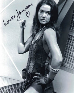 LOUISE JAMESON  - Leela in Doctor Who