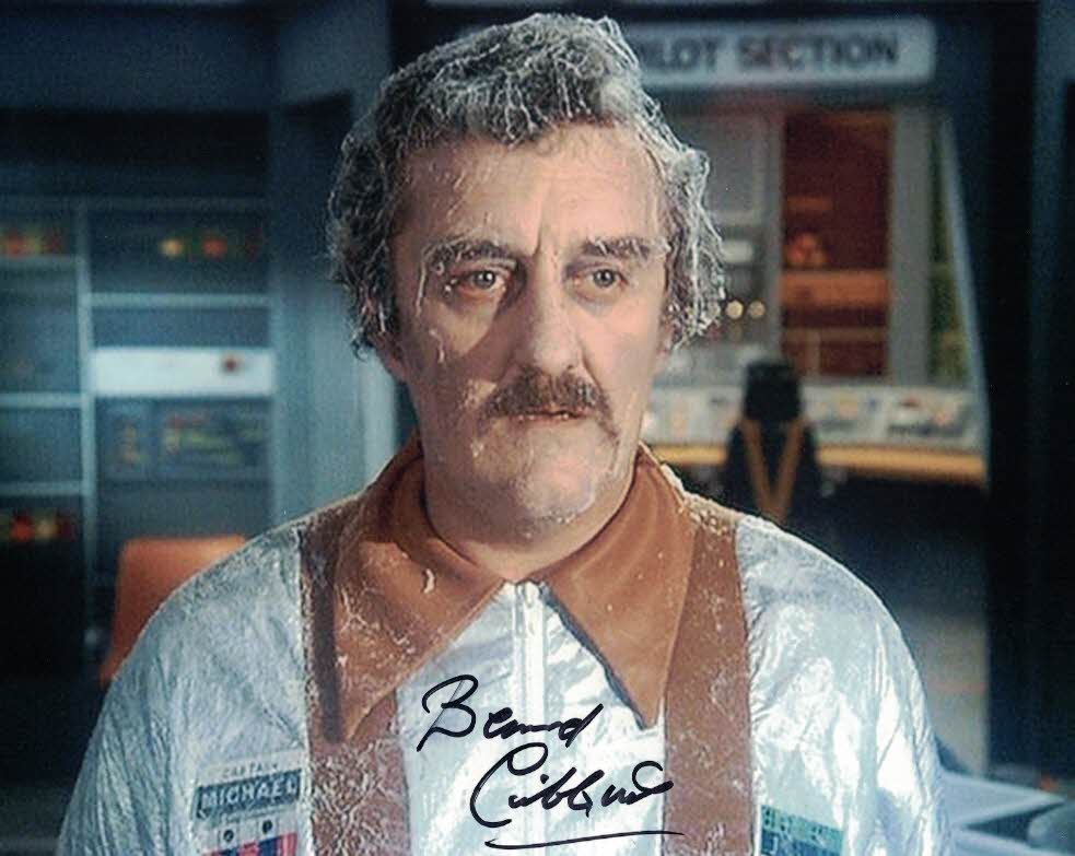 BERNARD CRIBBINS Captain Michael in Brian the Brain in Space 1999