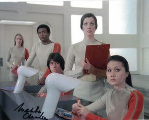 MELITA CLARKE as Main Technician in Space 1999