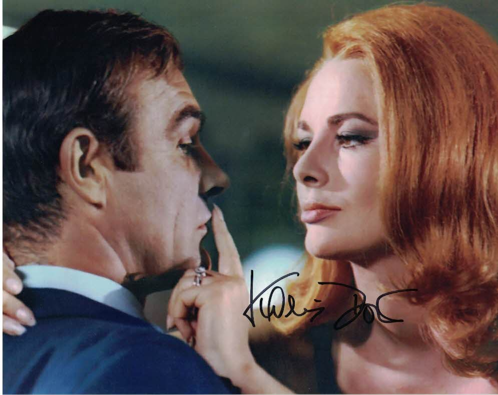 KARIN DOR - Helga Brandt in You Only Live Twice