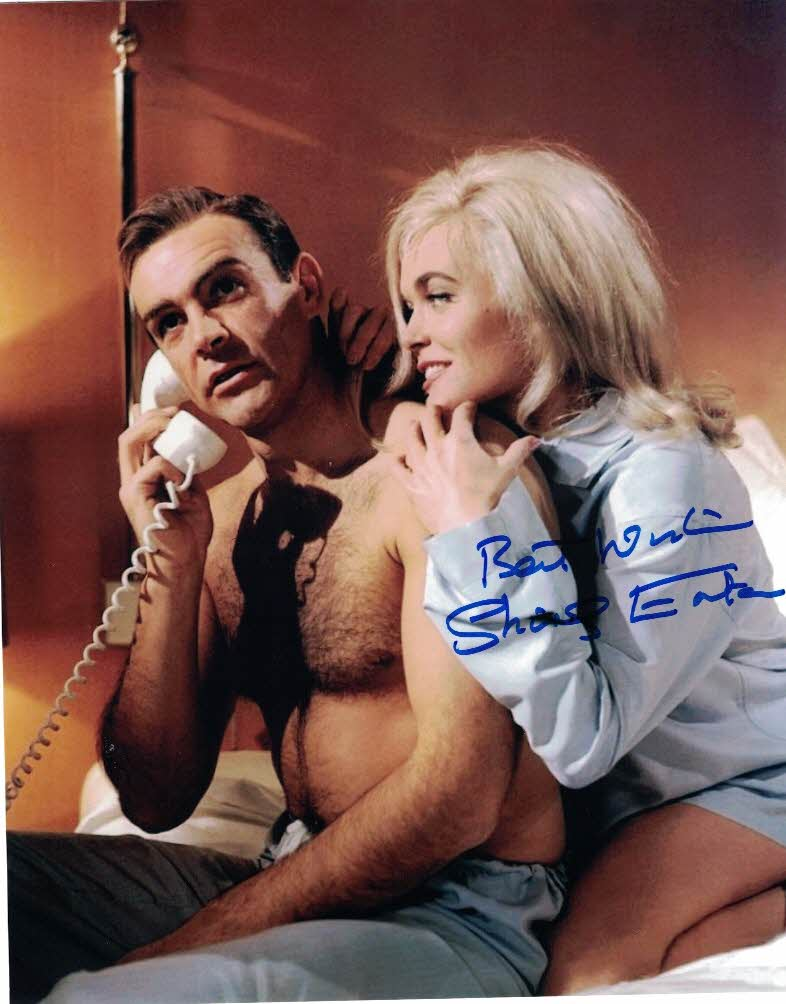 SHIRLEY EATON - Jill Masterson in Goldfinger