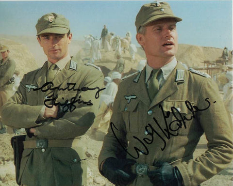 WOLF KAHLER & ANTHONY HIGGINS Joint signed Raiders of The Lost Ark