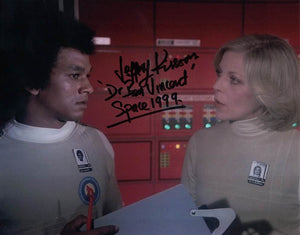 JEFFREY KISSOON as Dr Bon Vincent in Space 1999
