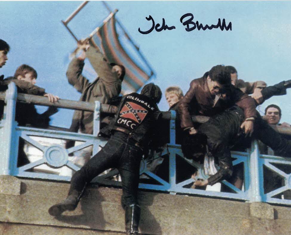 JOHN BLUNDELL - Leader of the Rockers in Quadrophenia