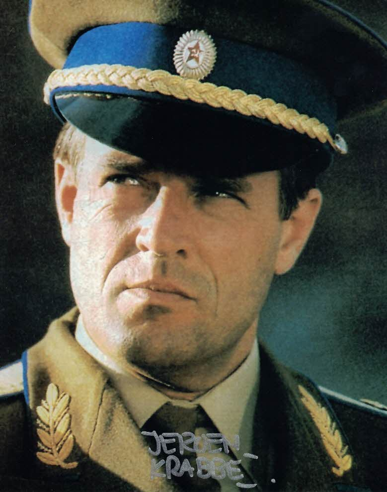 JEROEN KRABBE - General Georgi Koskov in The Living Daylights