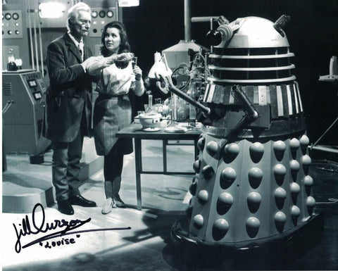 JILL CURZON - Louise  in Dr Who Daleks Invasion Earth 2150 AD