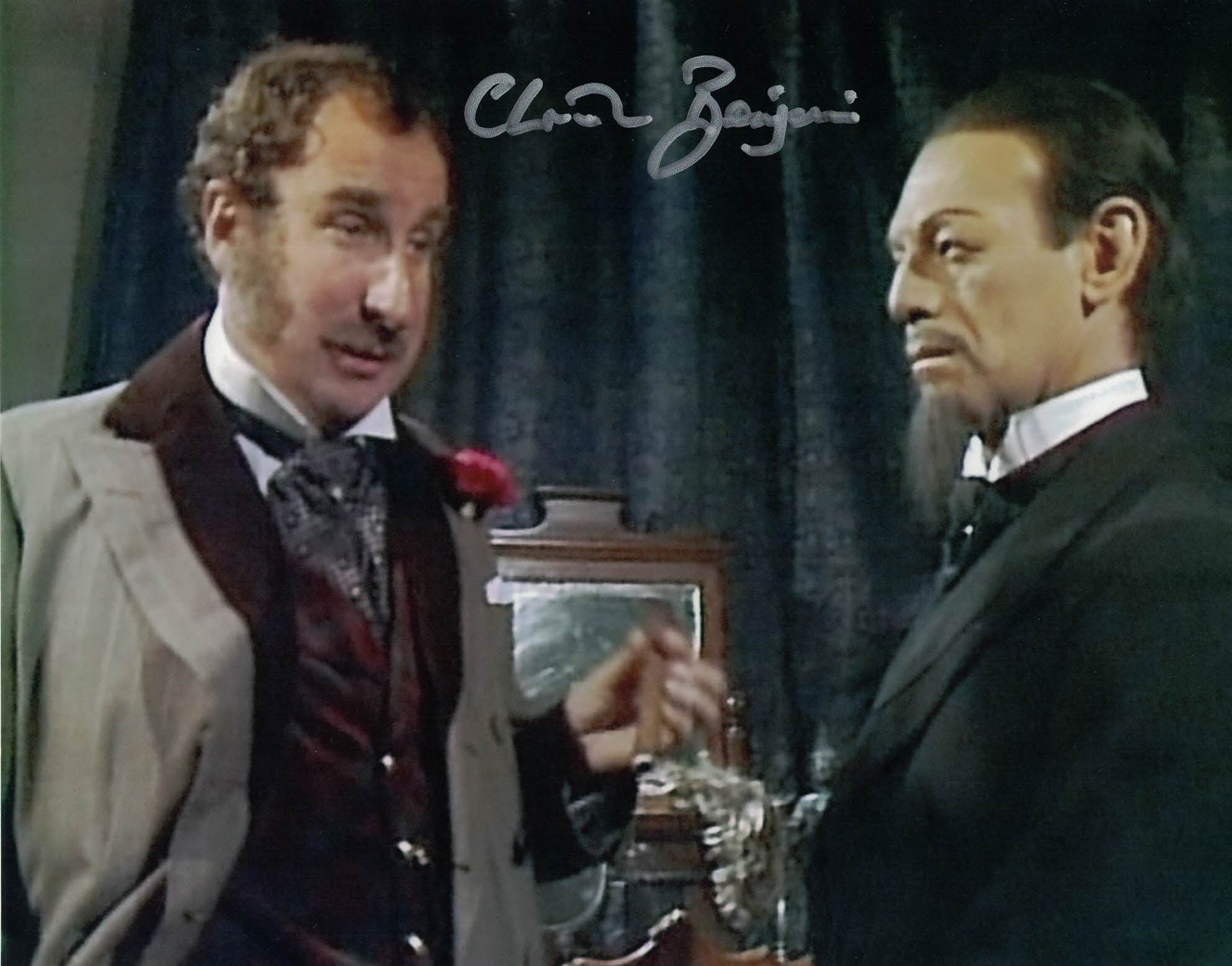 CHRISTOPHER BENJAMIN -Jago in Doctor Who - The Talons of Weng Chiang