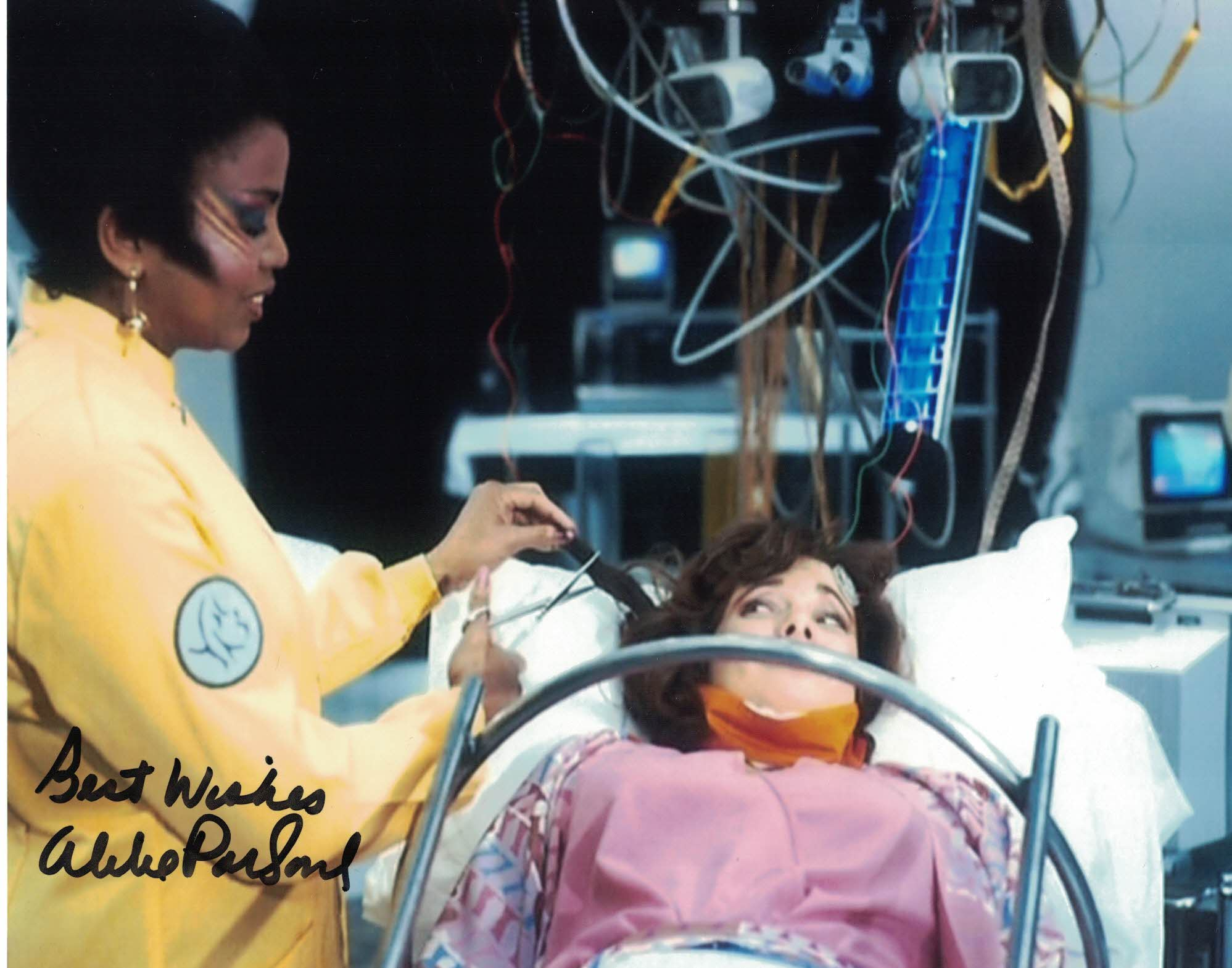 ALIBE PARSONS - Matrona Kani - Mindwarp - Doctor Who hand signed 10 x 8 photo