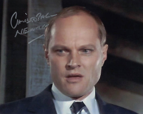 CHRISTOPHER NEAME -Fallon, Licence To Kill  hand signed 10 x 8 photo