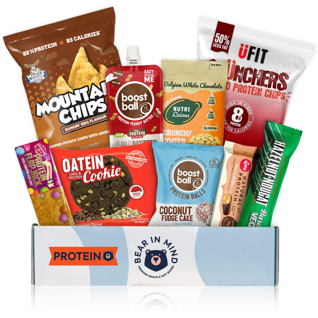 Premium High Protein Hamper (9 Snack)