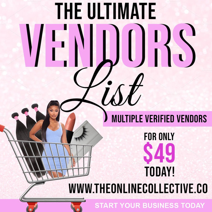 The Ultimate Vendors List - Instantly Emailed