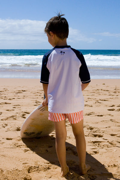Boy's Rash Vest - Short Sleeve