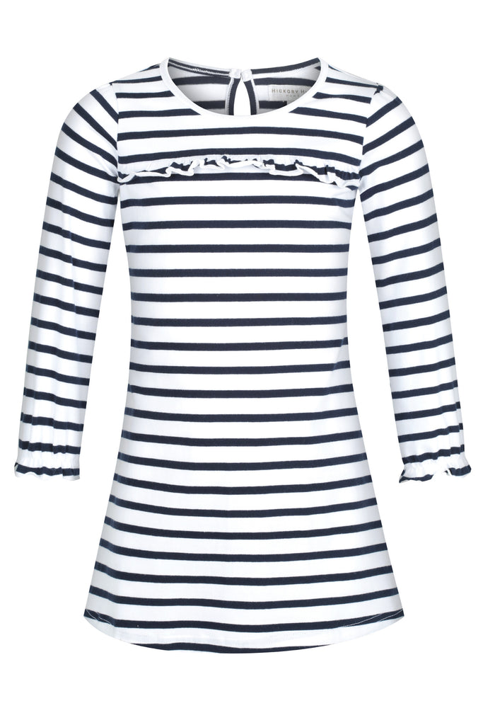 Girl's Striped Winter Nightie