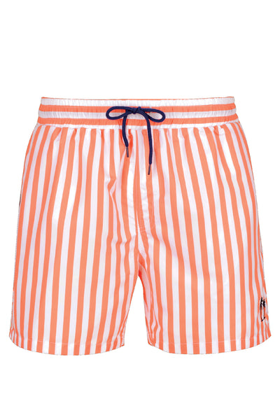 Boy's Classic Cut Swim Shorts - Orange