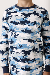 Camo Print Winter Pyjamas