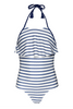 Girl's Positano One Piece - Nautical Navy