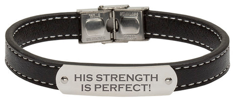 Bracelet Leather BK Strength