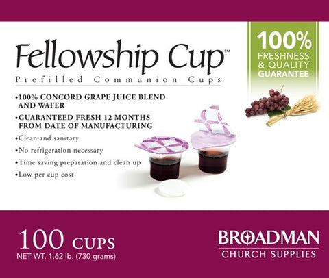 Fellowship Cups 100