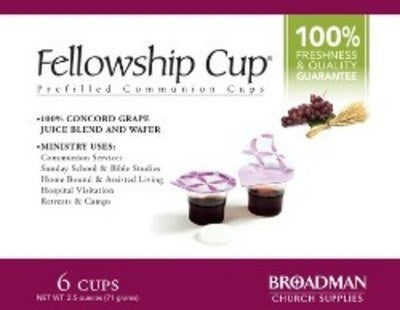 Fellowship Cup 6 Pack