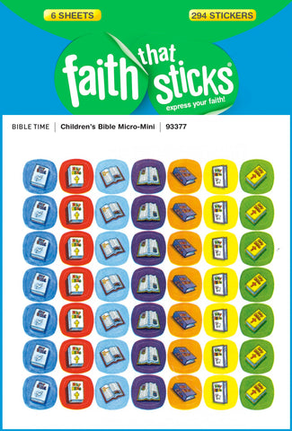 Sticker-childrens Bible Micro Mini