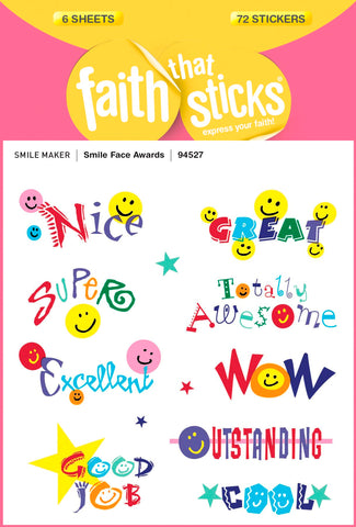 Stkr-smile Face Awards Stickers