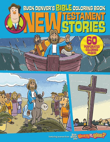 Buck Denvers Bible Coloring Book N