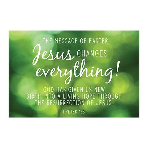 Pio-jesus Changes Everything