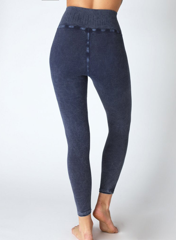 AVOCADO RACHEL RIB 7/8 LEGGING