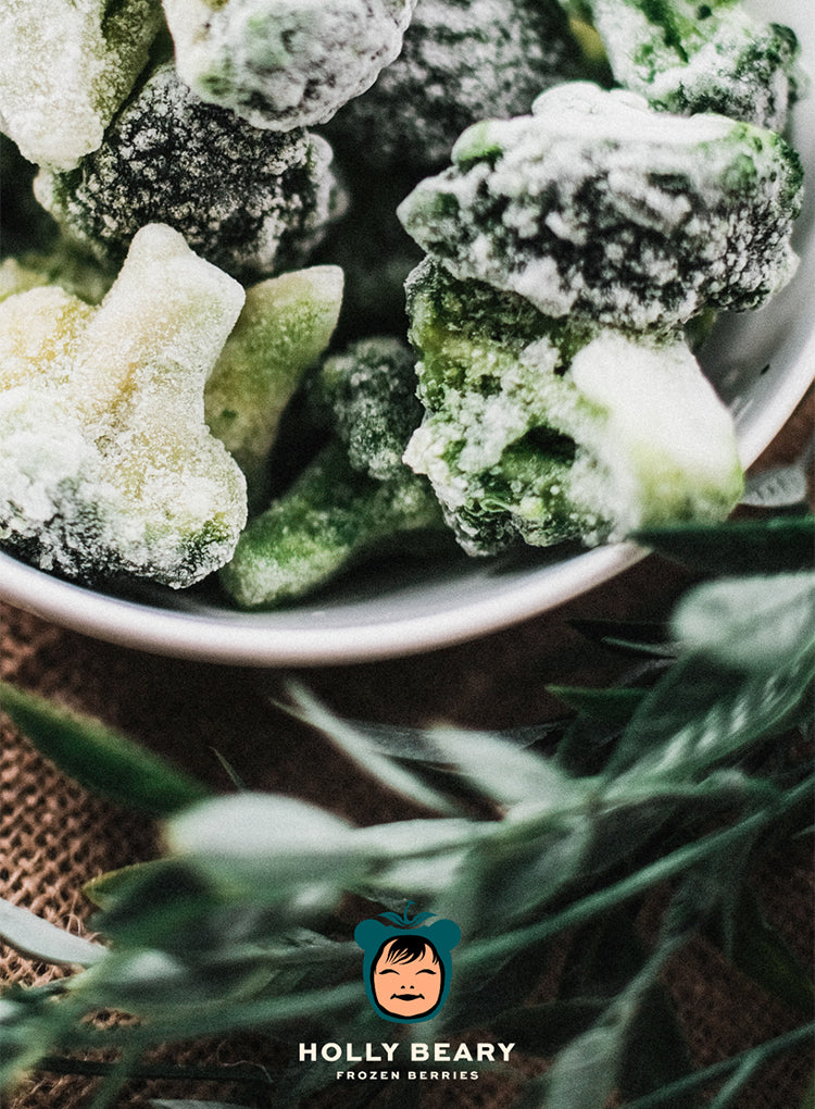 HOLLY BEARY FROZEN BROCCOLI FLORETS