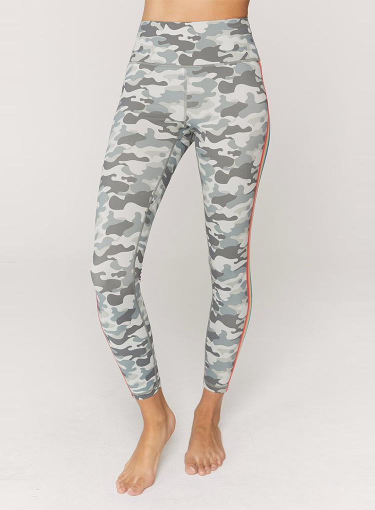 SPIRITUAL GANGSTER CAMO PERFECT HIGH WAIST LEGGING