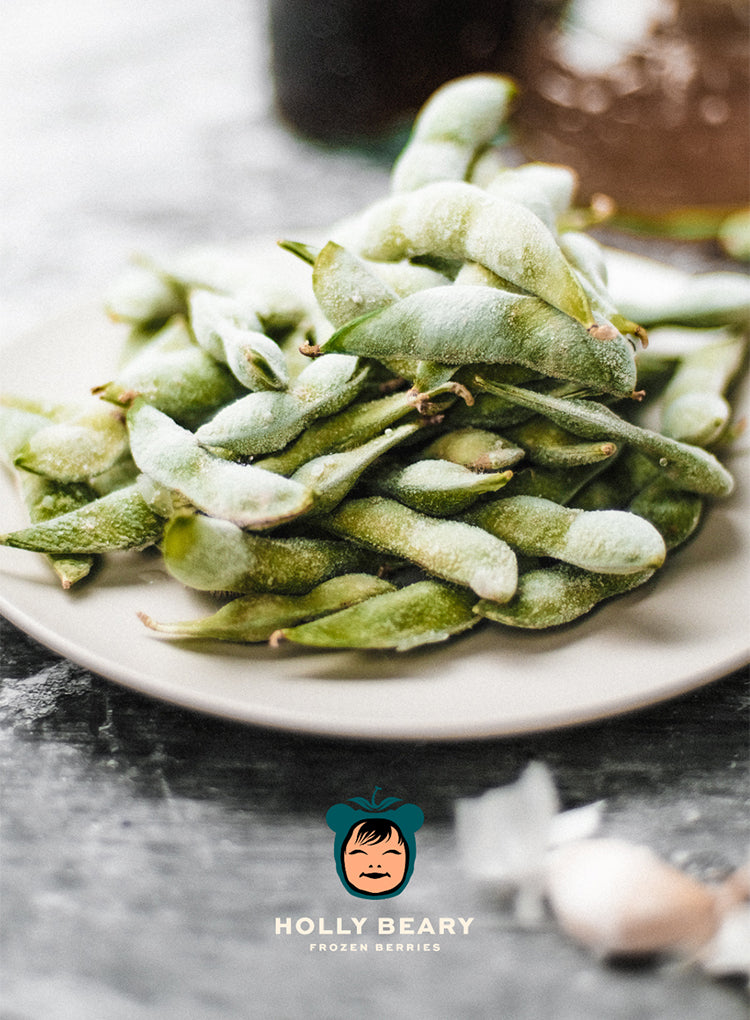 HOLLY BEARY FROZEN EDAMAME