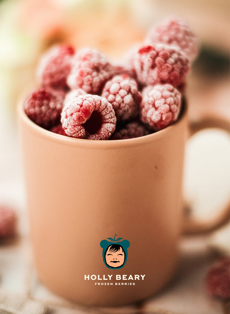 HOLLY BEARY FROZEN RASPEBERRIES