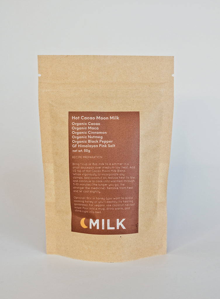 MOON MILK BLENDS HOT CACAO