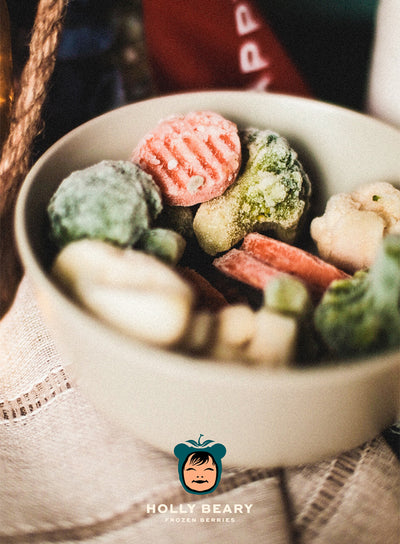 HOLLY BEARY FROZEN MIXED VEGGIES PACK