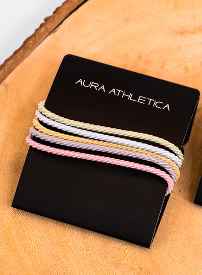 AURA ATHLETICA OUCHLESS TWIST TIES