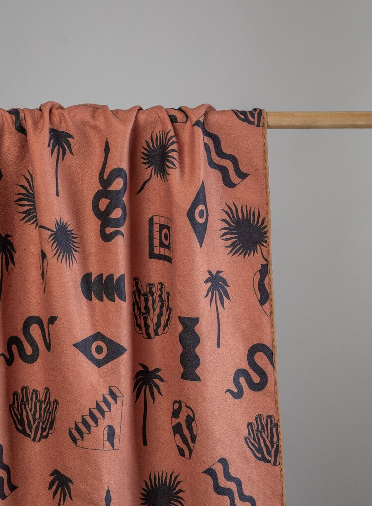 SORA RUST TOWEL