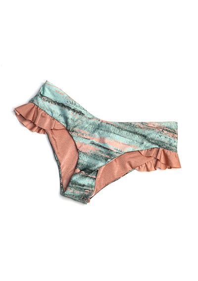 SWIM LOURDES V RUFFLES BOTTOM