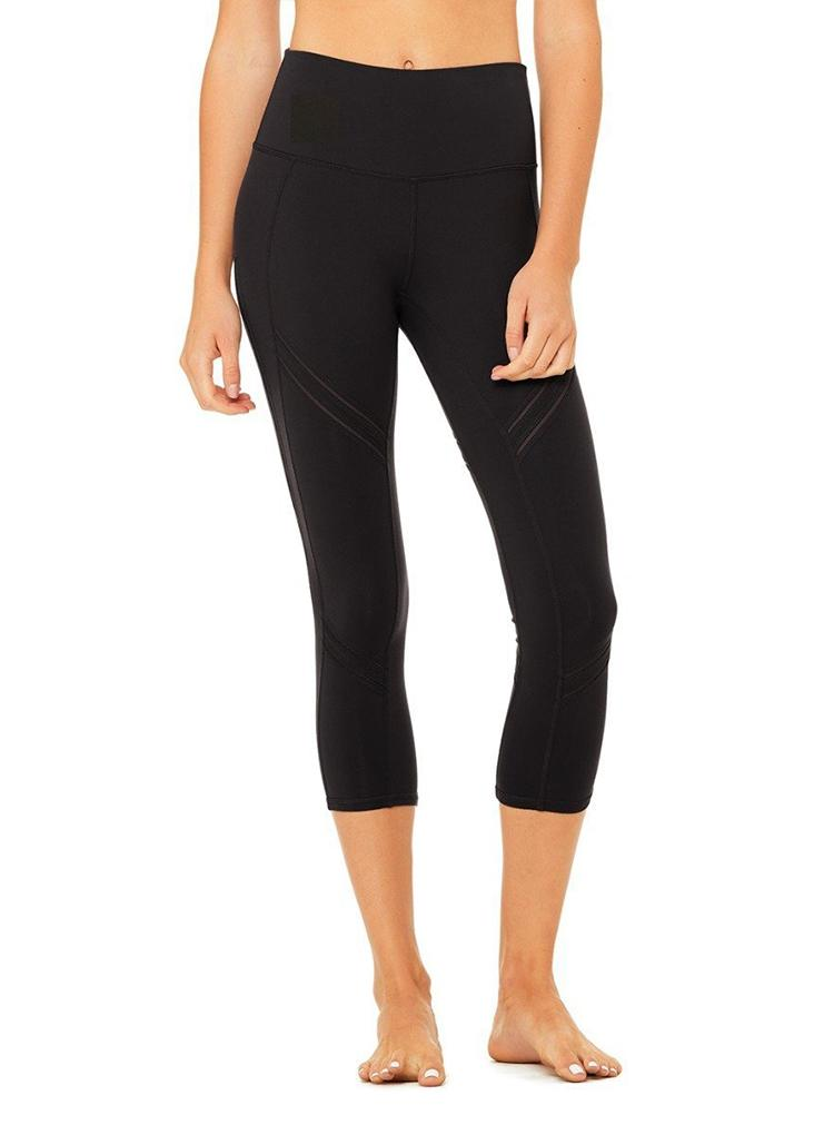 ALO HIGH WAIST COSMIC CAPRI