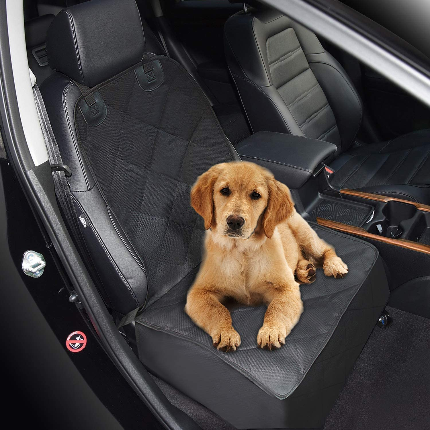 Zellar Cars Boot Liner for Dog Waterproof Back Seat Cover Protector