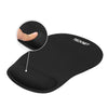 TECKNET Mouse Mat with Gel Rest Non-slip Rubber base Mice Pads